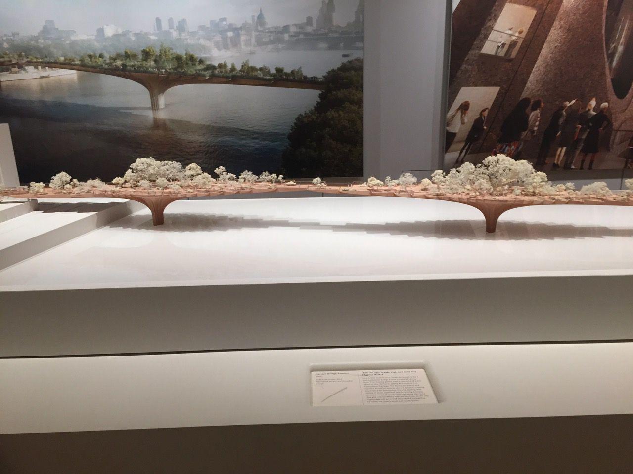 Model of bridge