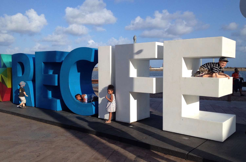Recife sign