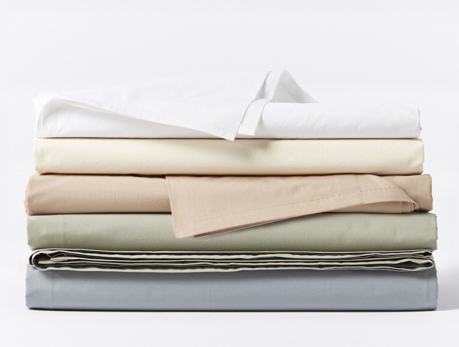 Coyuchi 300 Thread Count Organic Percale Sheets