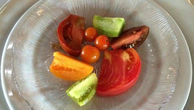 Inspiración de tomate de fin de verano