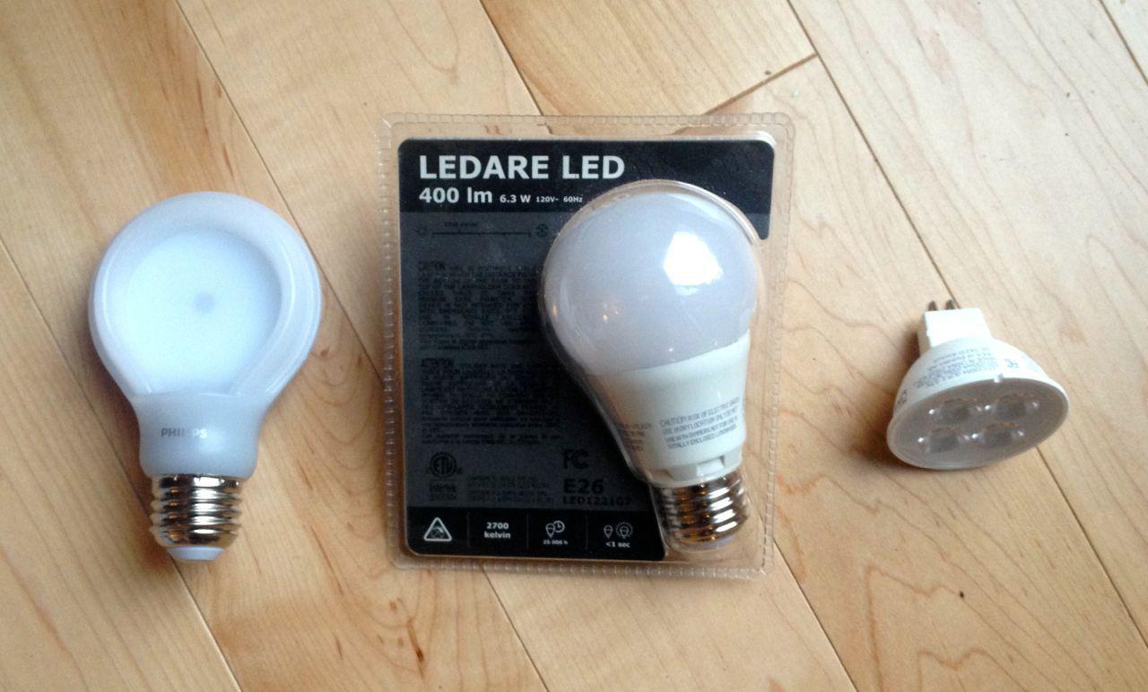 various bulbs