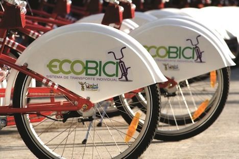 Official Mexico City Bike Sharing Program Ecobici Photo