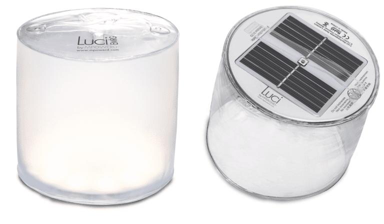 Esta linterna LED solar inflable de $ 10 pertenece a su kit de emergencia