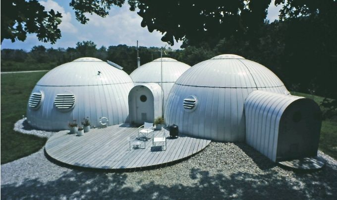 Dome house exterior