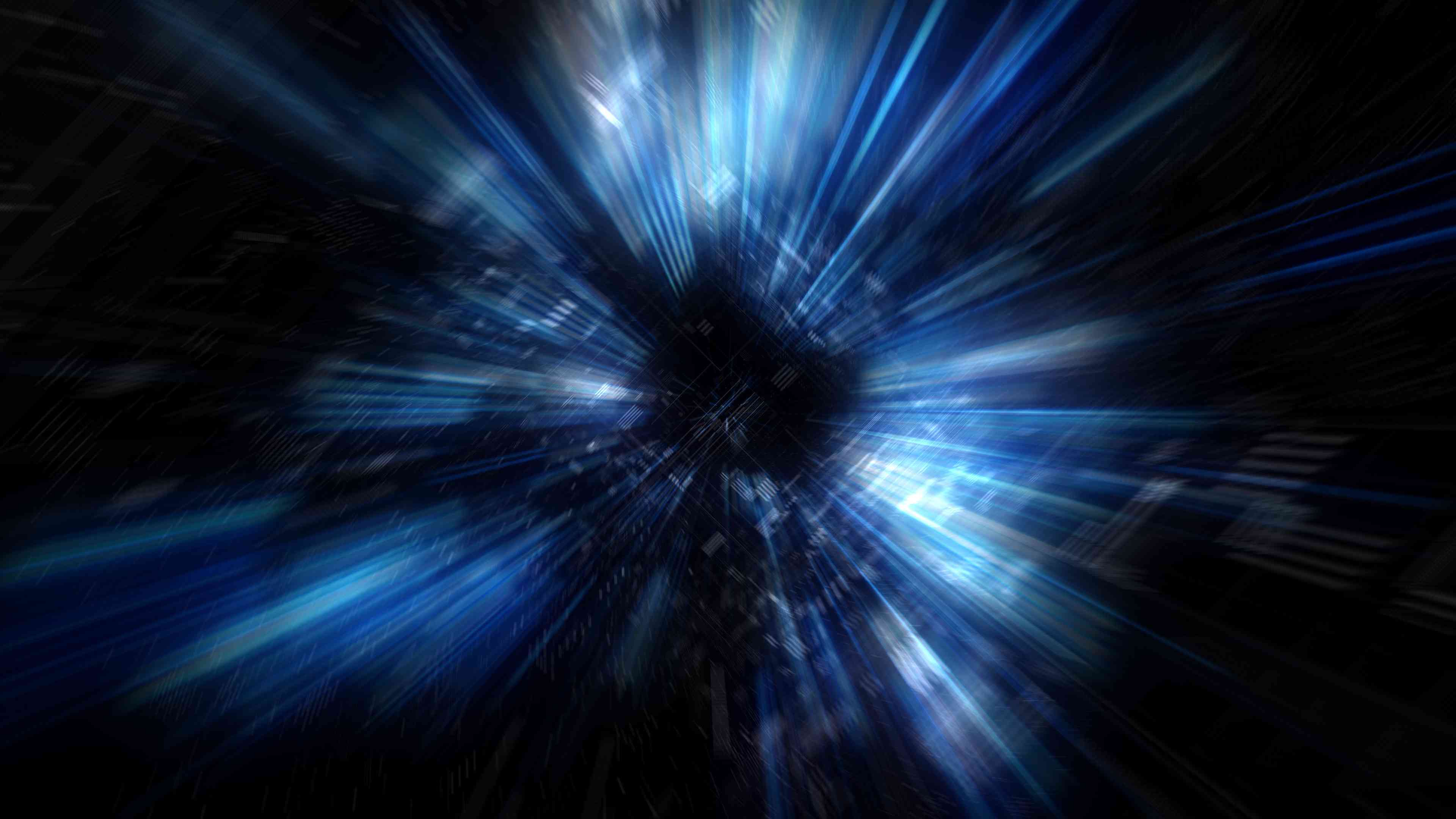 A visual of how a warp drive might look.