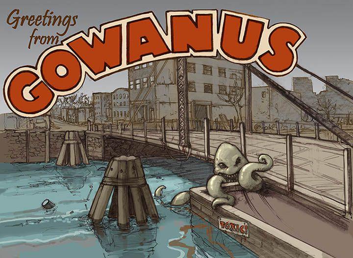Gowanus Canal Postcard