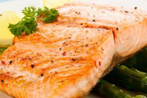 Foods high in vitamin D: Salmon