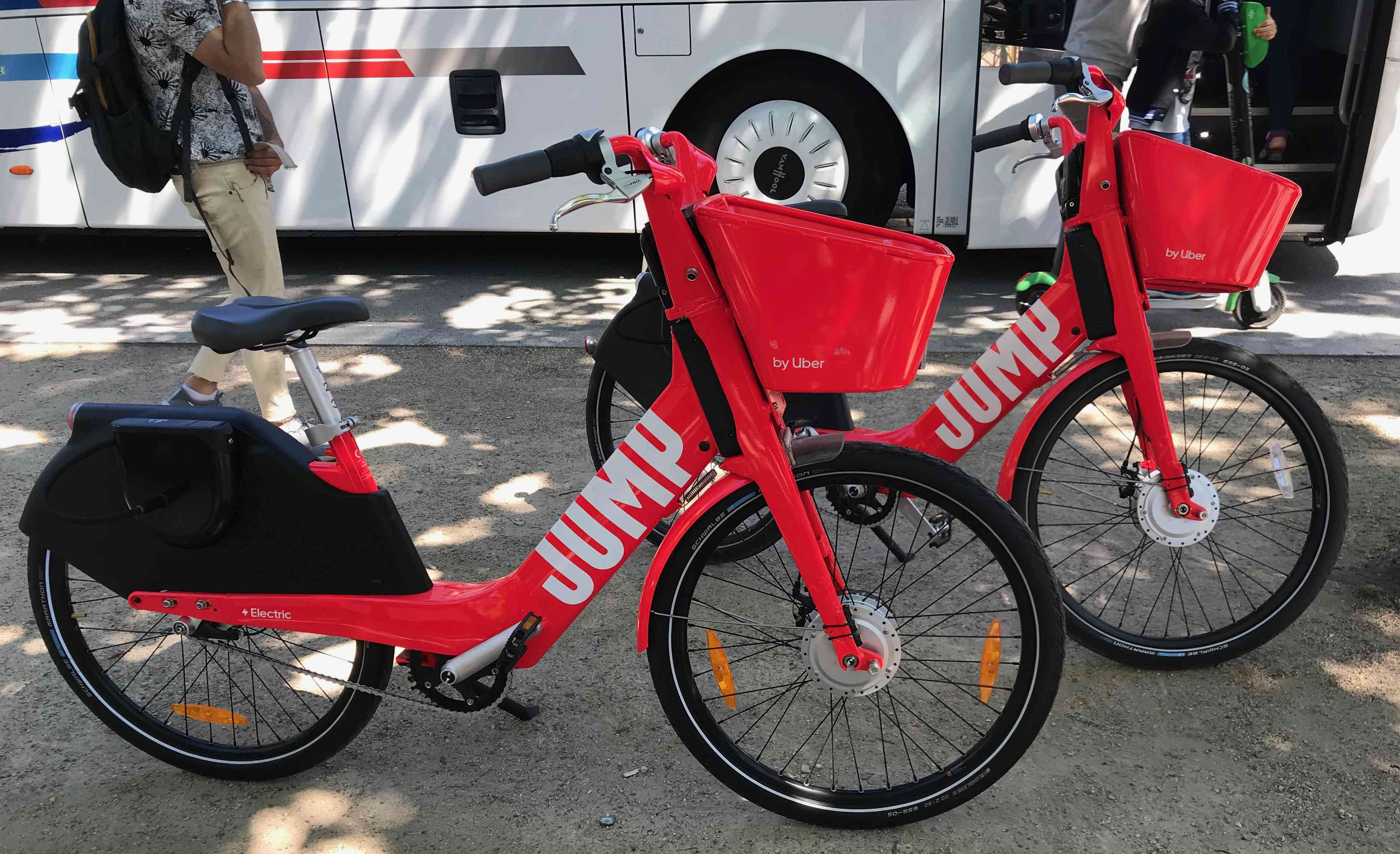 Rental e-bikes in Paris