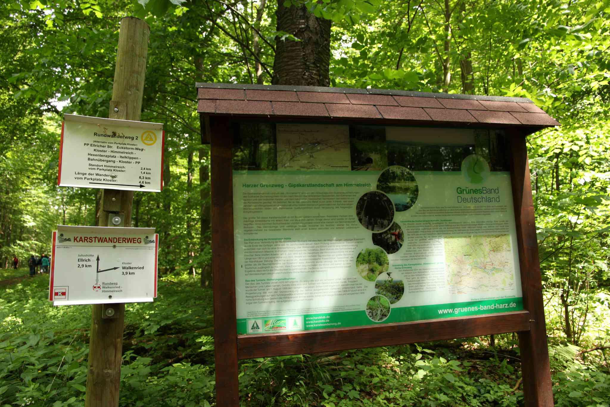 A sign along the Green Belt