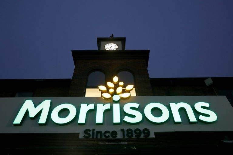 General View Of Morrisons Supermarket