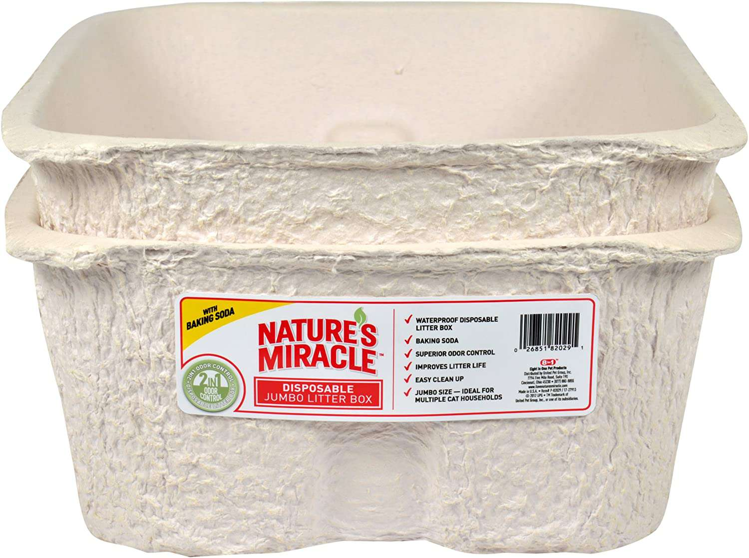 Nature's Miracle Disposable Litter Box