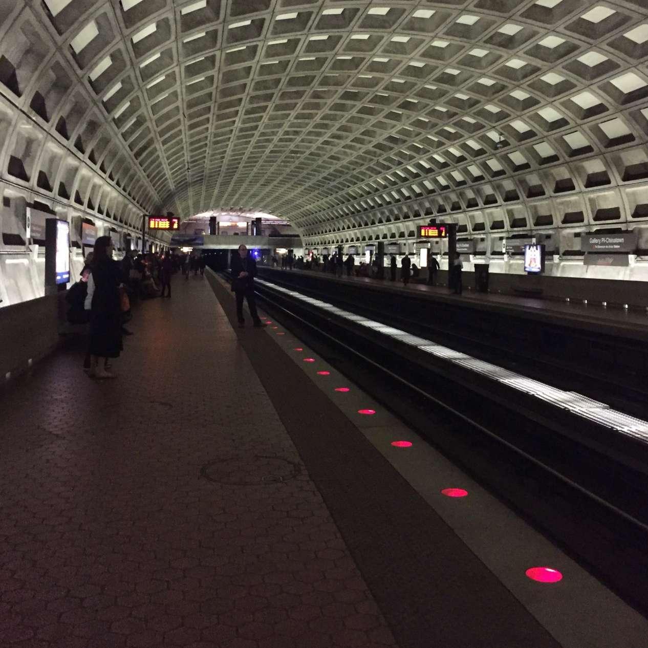lights in platform