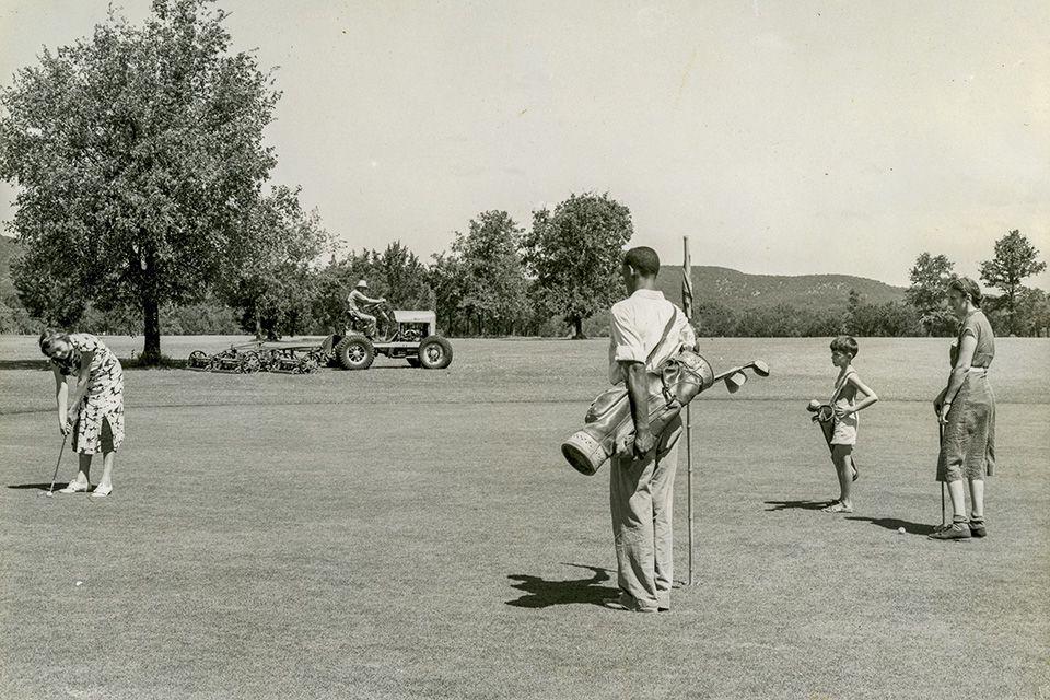 Black caddy at Muny in 1939