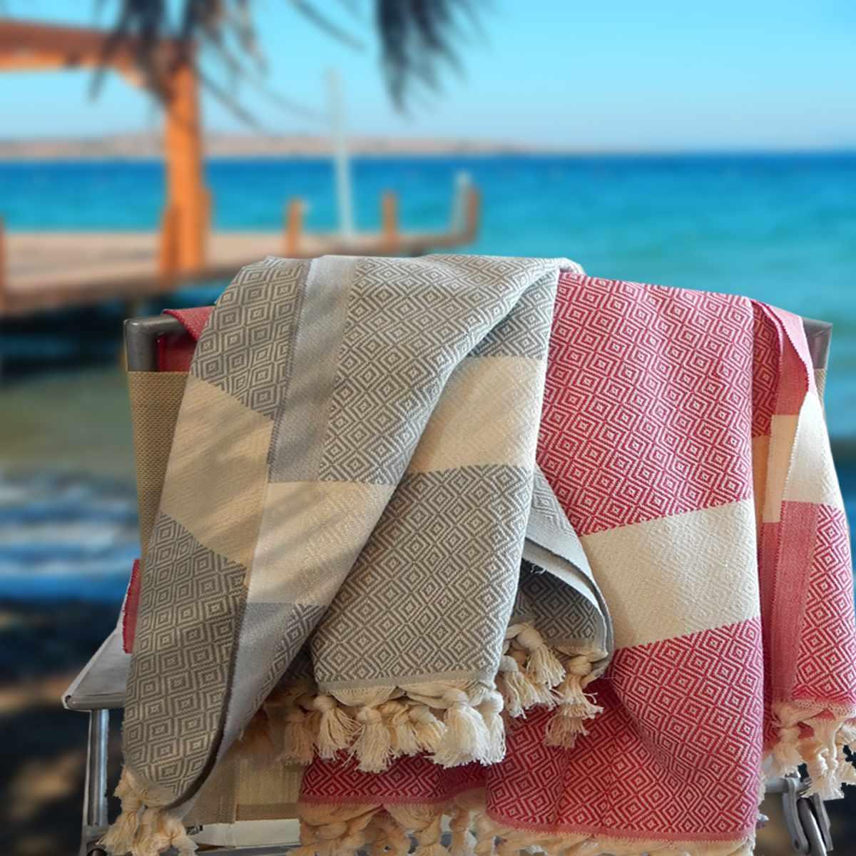 Qui Quattro Pestemal Towel