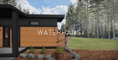 Model of the Waterhaus