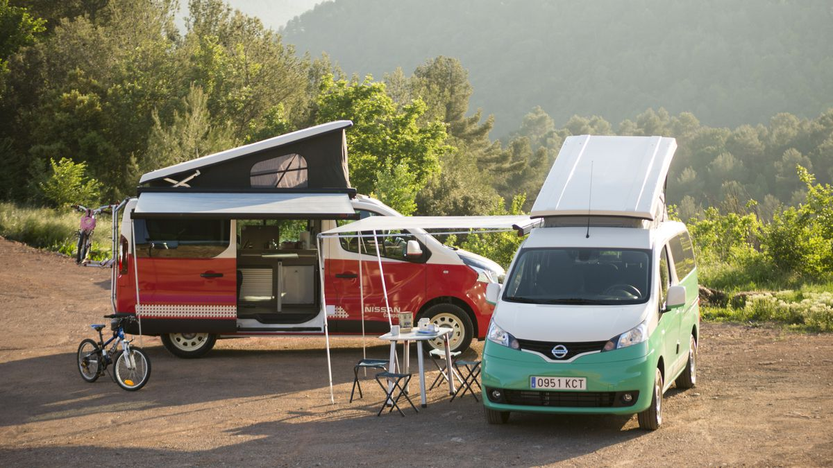 Nissan Launches All-Electric Camper Van