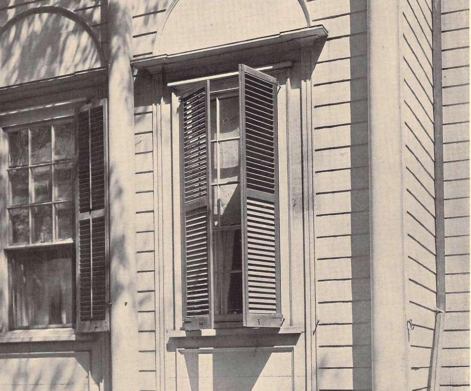 Jessup House Window