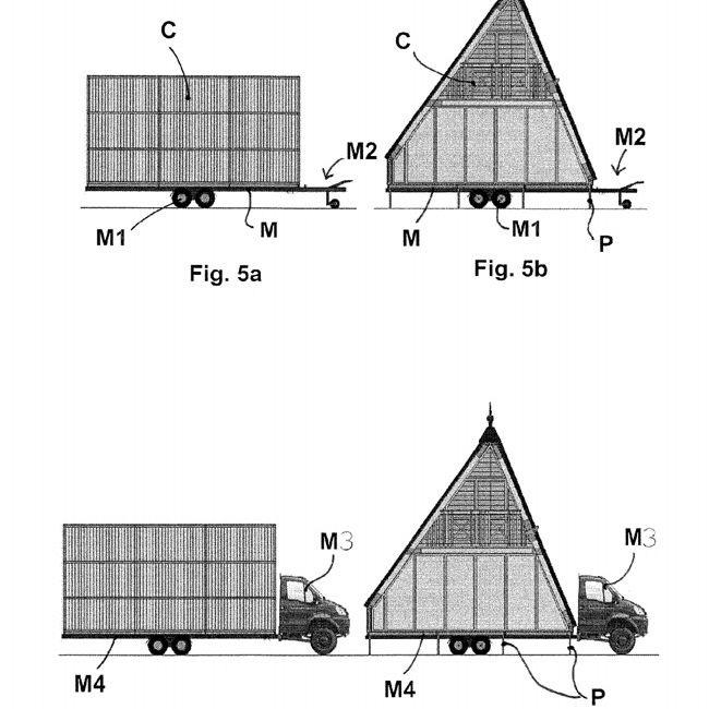 single bay on a trailer