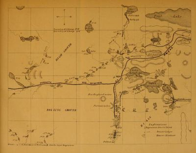map of beaver dams in Michigan