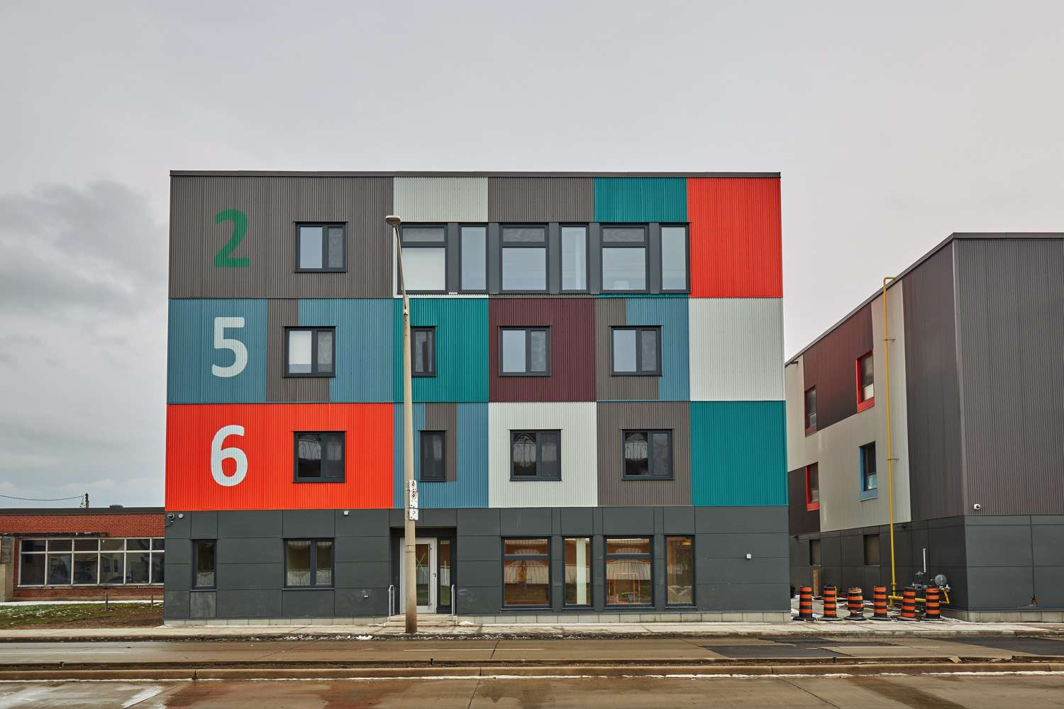 McQuesten Lofts look like shipping containers