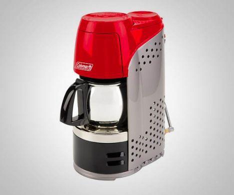 propane powered coffee maker