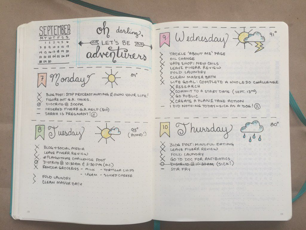 Why Bullet Journaling Is a Genius Idea