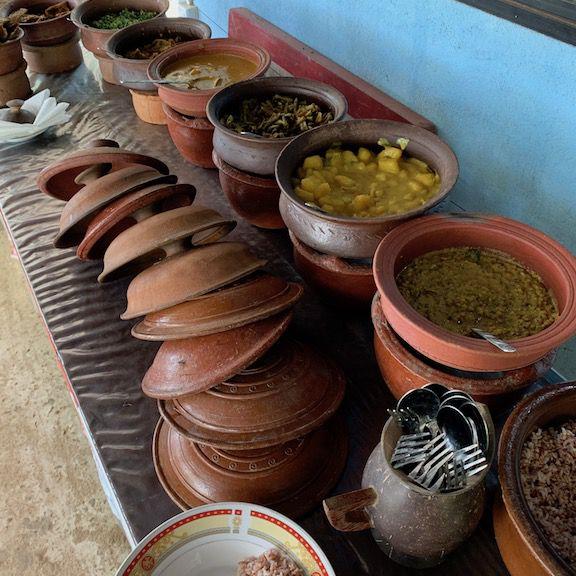 Sri Lankan lunch