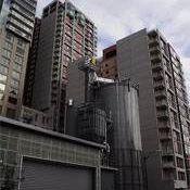 Biomass boiler in Seattle