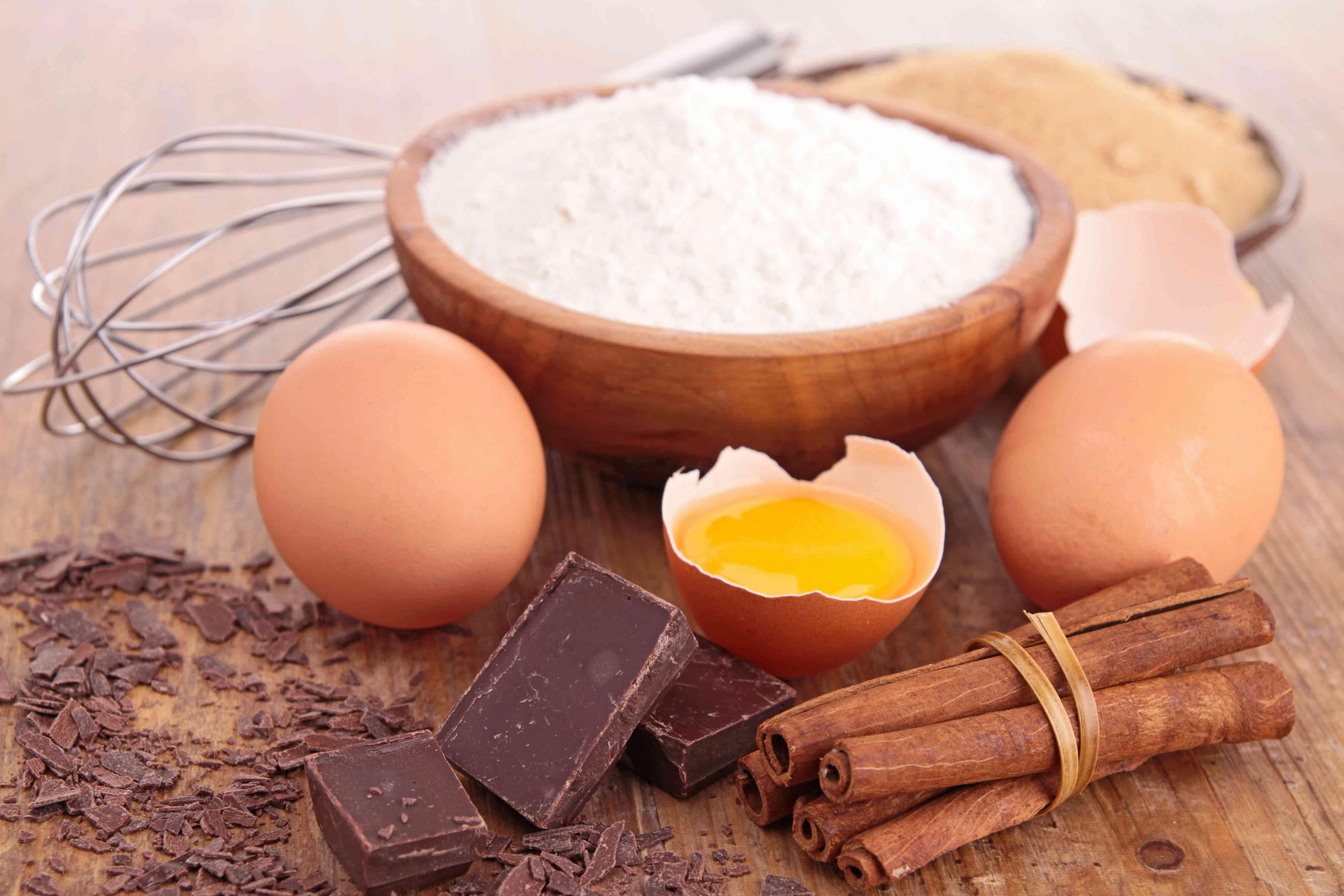 baking ingredients, stocking pantry