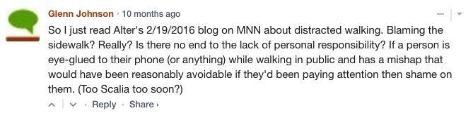 comment on TreeHugger
