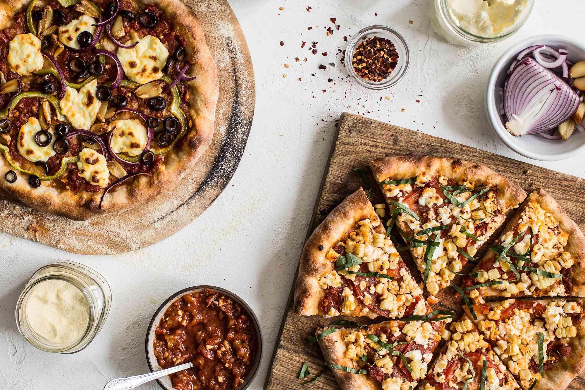 Zero Waste Chef pizzas