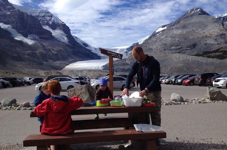 Un menú gourmet para acampar con niños