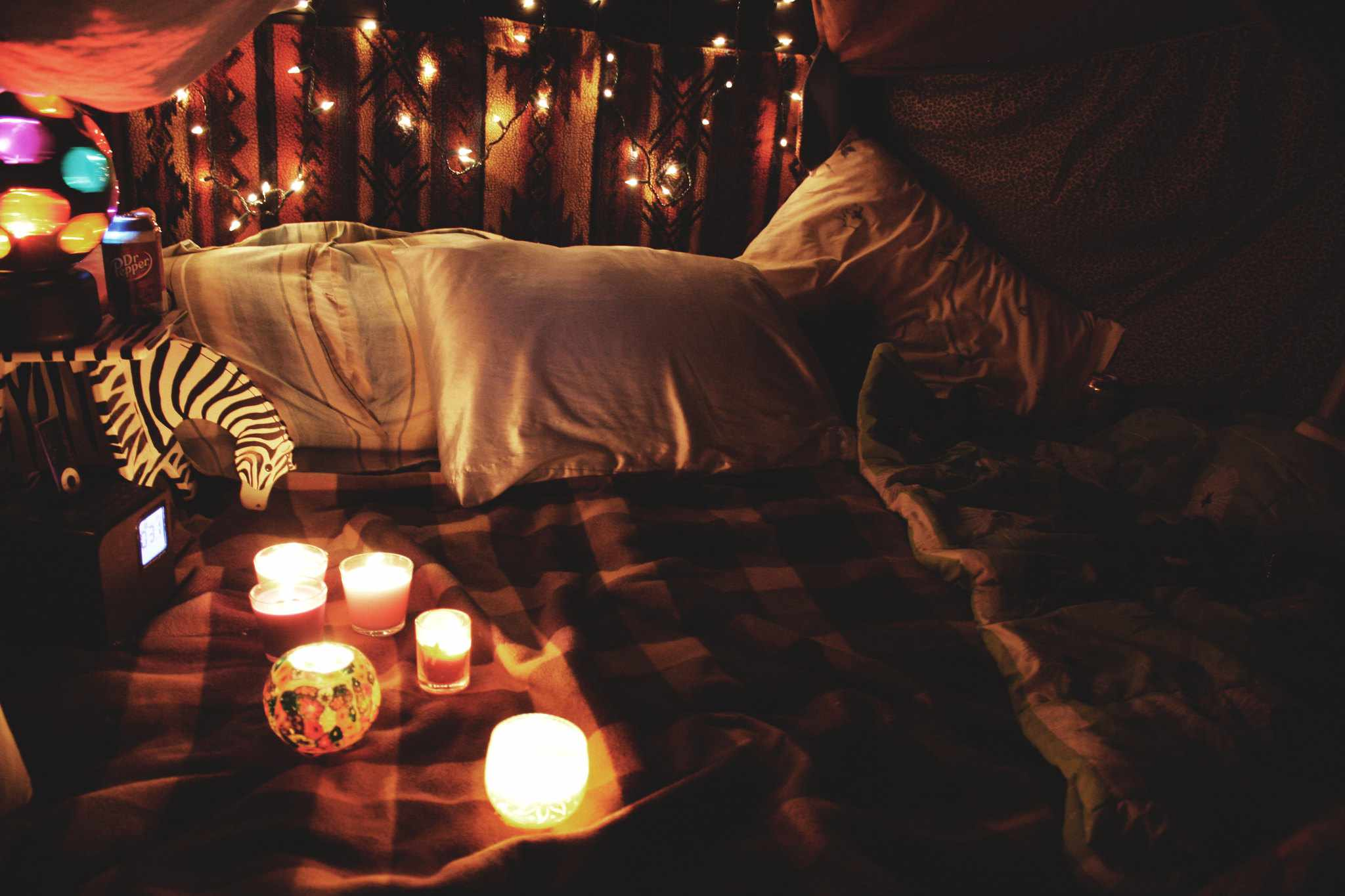 Create A Cozy Escape And Save On Heating With A Grown Up Blanket Fort