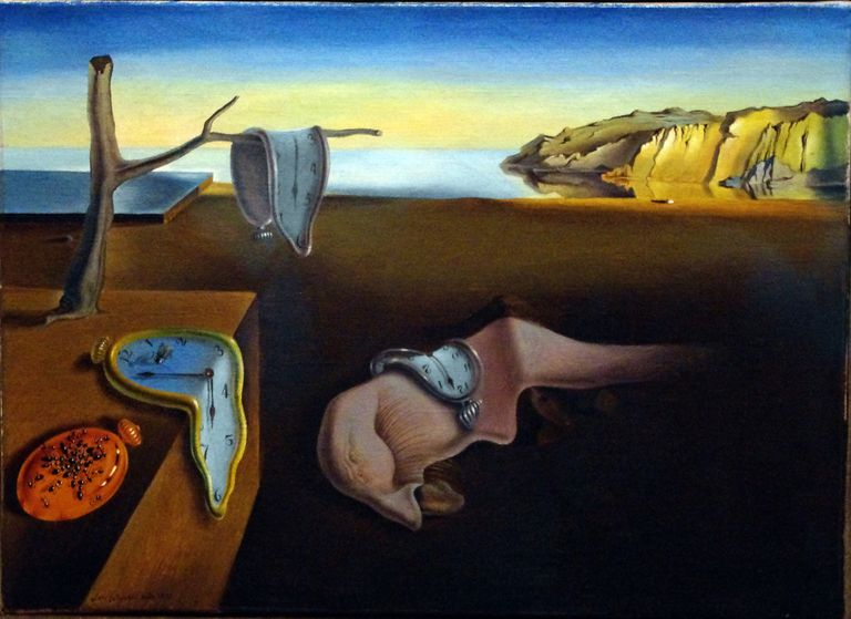 The Persistence of Memory (1931) by Salvador Dali