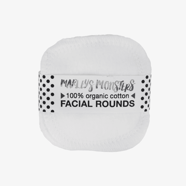 Package Free Organic Cotton Facial Rounds
