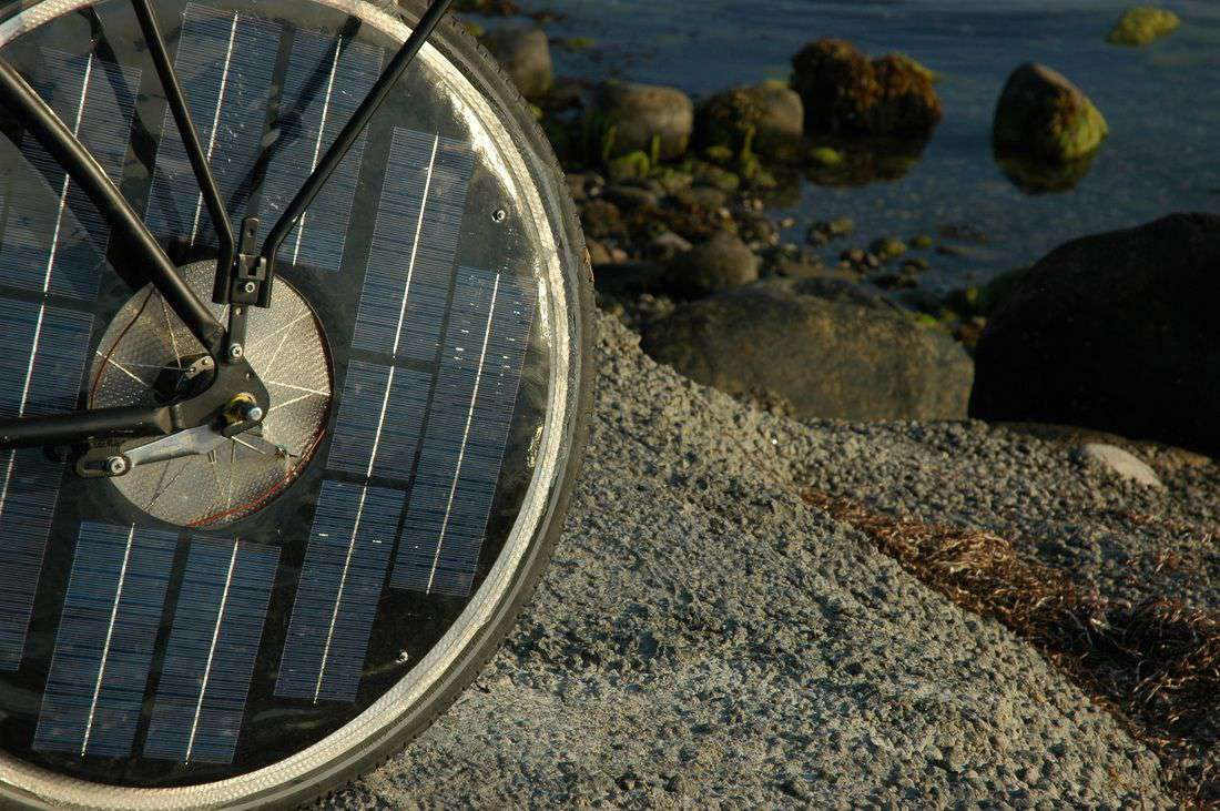 solarbike wheel