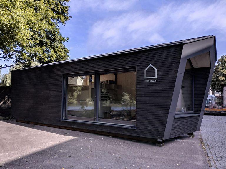 Cabin Spacey ofrece casas prefabricadas de pago por vida, independientes de la ubicación