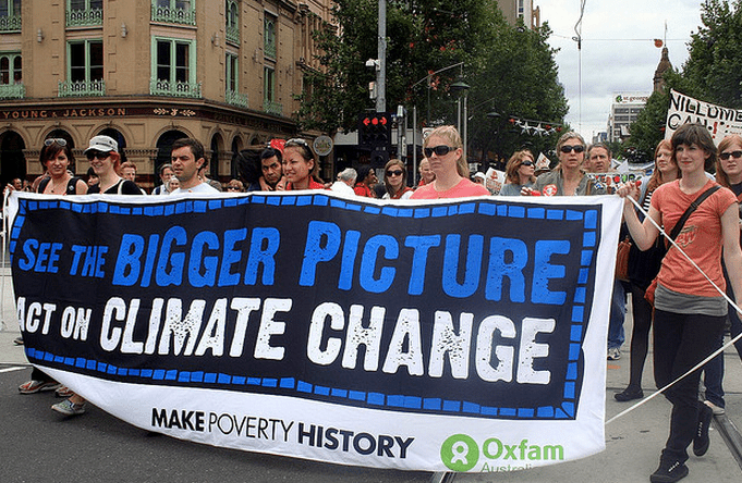 Climate Change protests photo