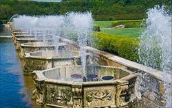 Longwood Gardens fountains