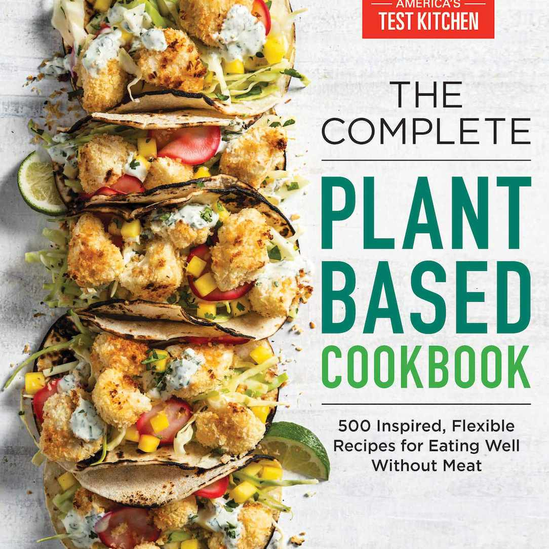 Complete Plant Based Cookbook cover