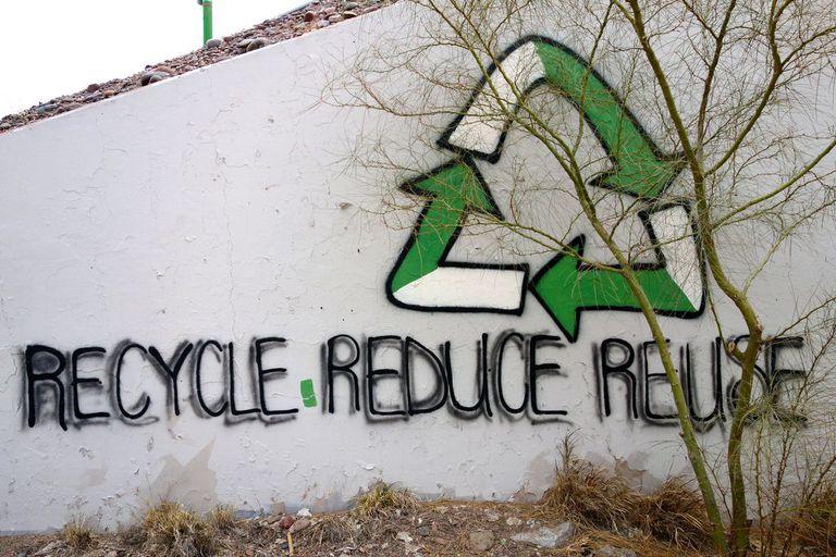 reduce reuse recycle graffiti