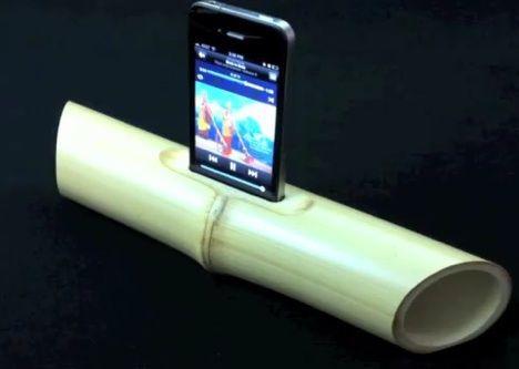 bamboo speaker image