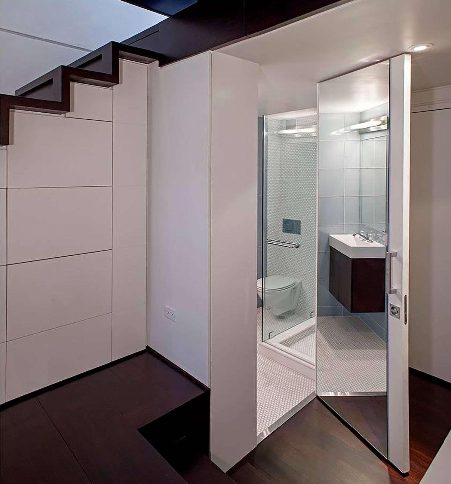 manhattan microloft specht architects bathroom