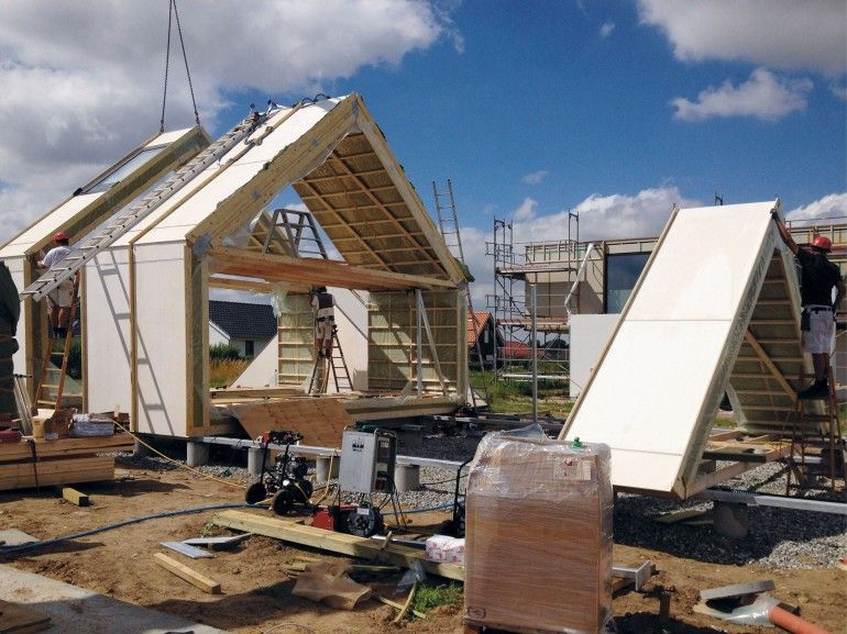 Maintenance free House construction