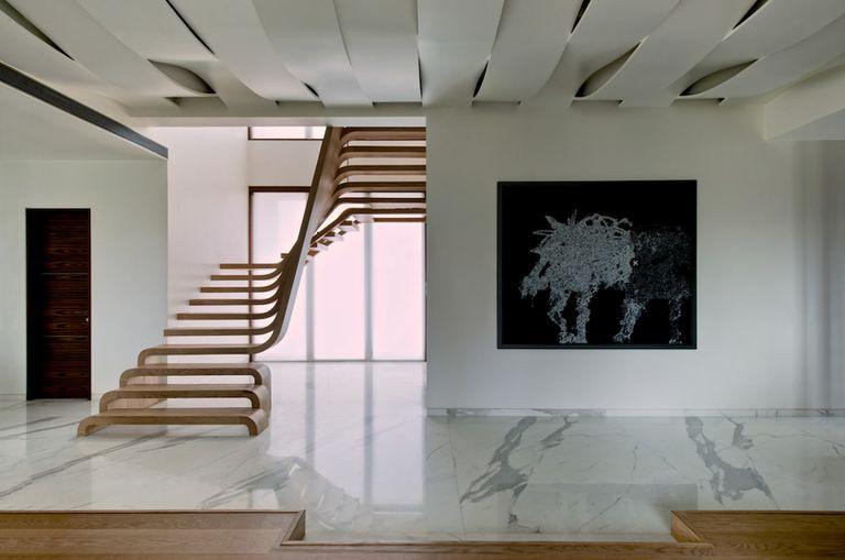 La escalera de la semana es realmente una gran escultura