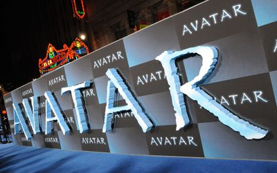 Sign at the Los Angeles Avatar movie premier