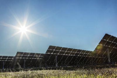 Solar panels at a solar farm in Australia