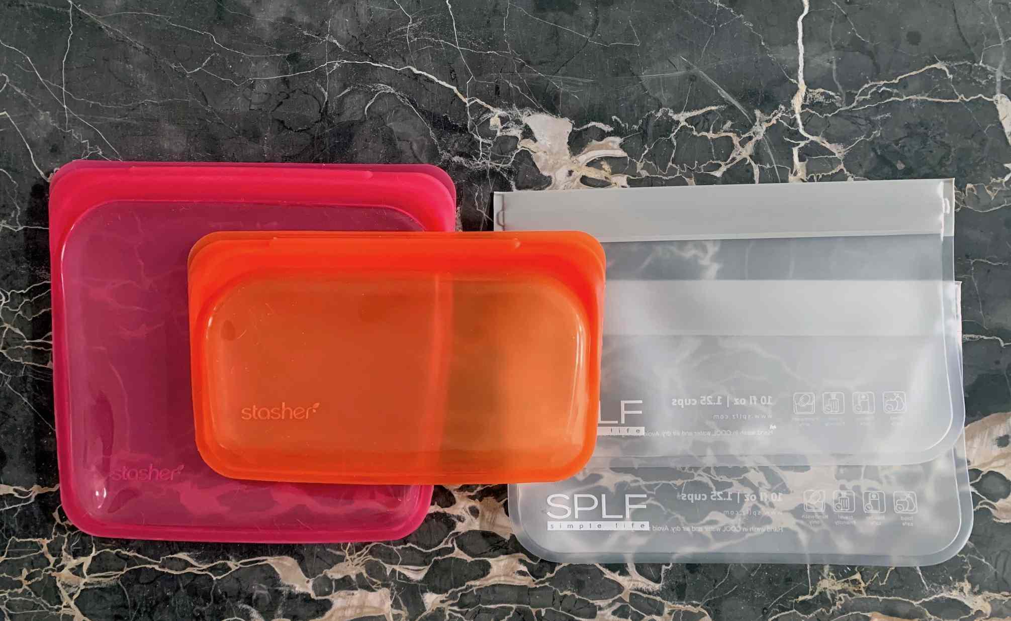 resusable zipper bag