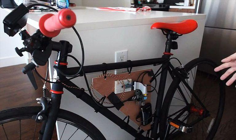 Raspberry Pi DIY dynamic bike headlight