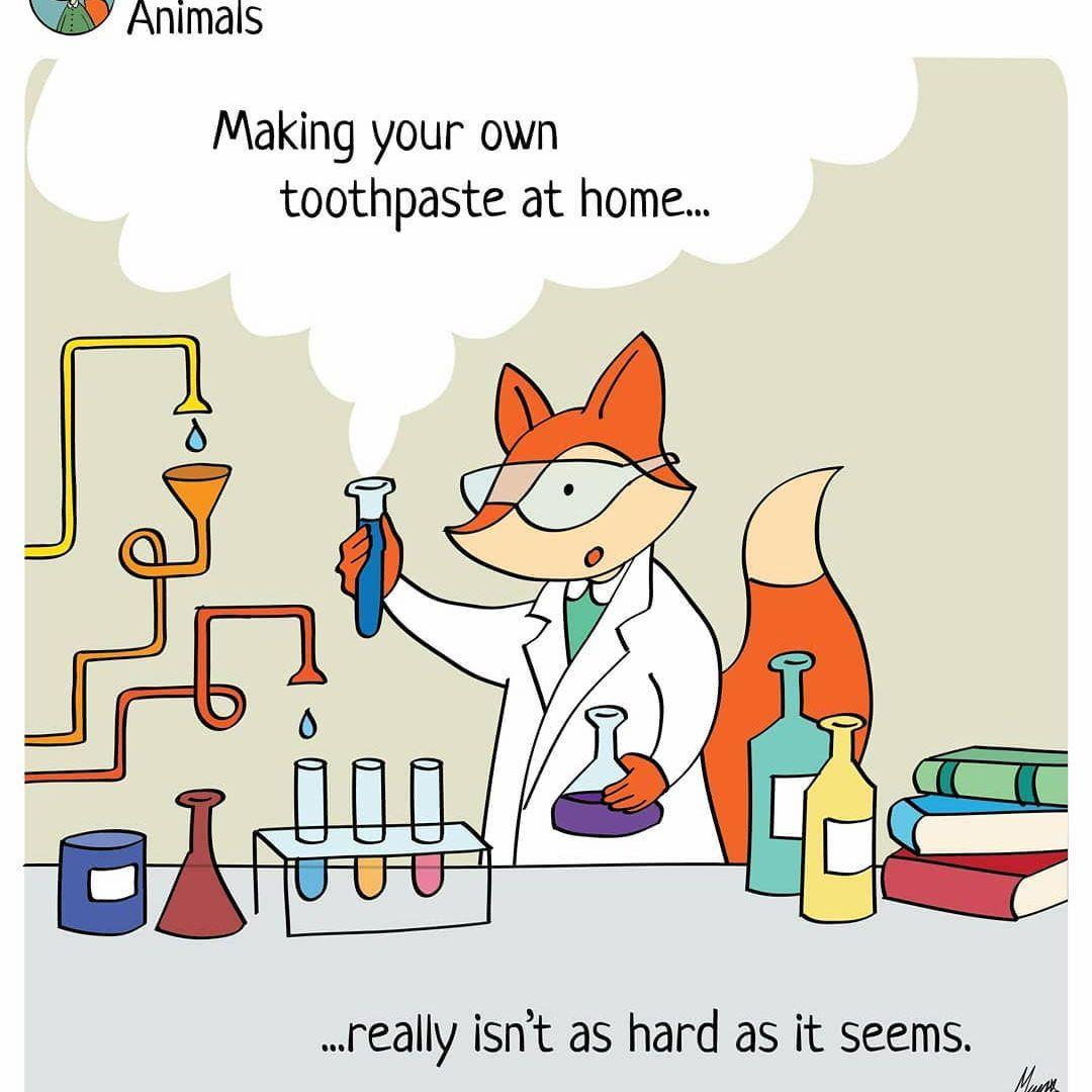 Waste Aware Animals toothpaste